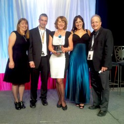 Tourism Marketing Award pic five of us