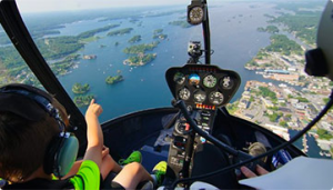 Exploring Gananoque and the 1000 Islands by Air